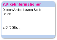 Artikelinformation